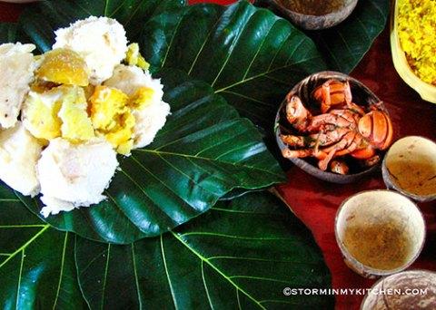 Breadfruit-leaves