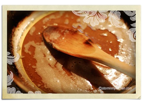 making-caramel