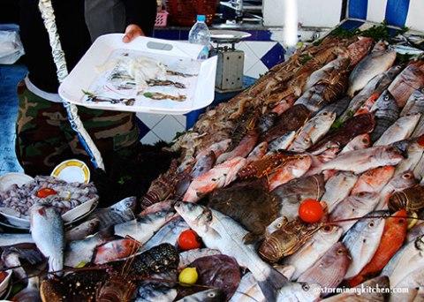 fish-stall