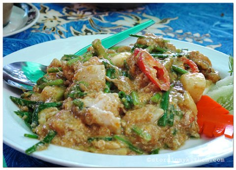 crabmeat-stir-fried