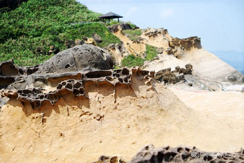 Honeycomb-rock-formation-Yehliu