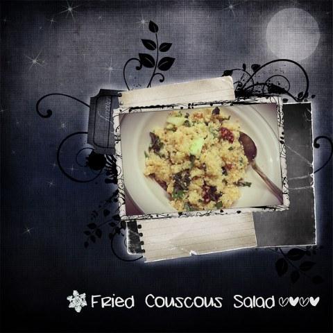 Fried-Couscous-Salad
